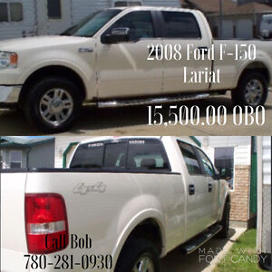 2008 Ford F-150 Lariat SuperCrew Pickup Truck