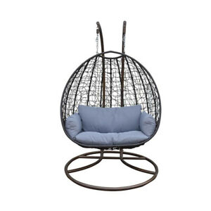 Brand New Double Hanging Chair- Indoor and Outdoor Patio Use