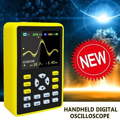 Mini Portable Digital Oscilloscope 100mhz 500mss Dso 2.4 Inch Ips Lcd Display