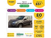 Land Rover Freelander 2 2.2Td4e FROM £51 PER WEEK !