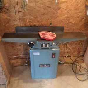 6 in King jointer planer