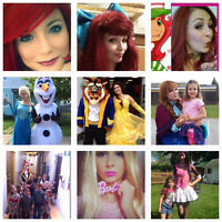 Elsa,Anna,Olaf,Belle,Bête,Ariel,MonsterHigh plusieur princesses