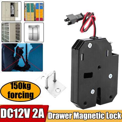 Wired Electronic Magnetic Sensor Lock 150kg Forcing Dc12v For Cabinet Drawer