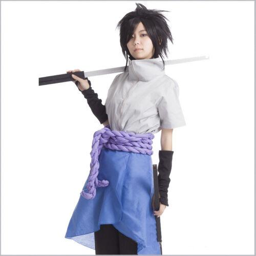 Anime N aruto Sasuke Uchiha Cosplay Halloween Party Set Cosplay Costume