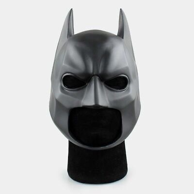 Batman Halloween Movie (Batman The Dark Knight Movie Soft PVC Halloween Cosplay Mask Helmet)