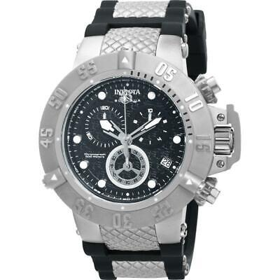 Invicta Subaqua Noma III 14941 Men's Round Chronograph Black Silicone Watch