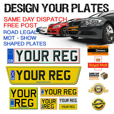 <em><em>ALL</em></em> SIZES   PAIR QUALITY CAR NUMBER PLATES  </em>...