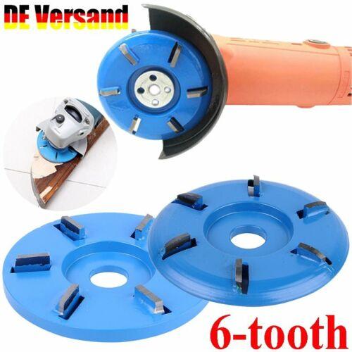 6 Zähne Holz Schleifen Carving Shaping Disc Für Winkelschleifer Schleifscheibe