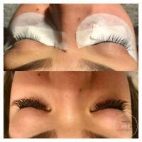 Classic Eyelash Extensions & Makeup Applications