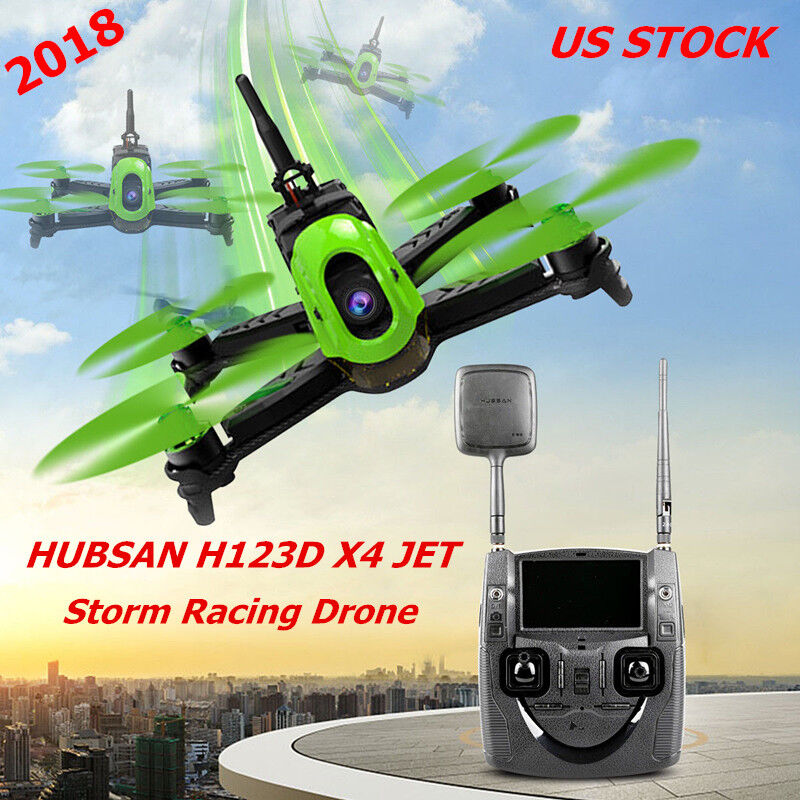 H123D Hubsan X4 Jet FPV RC Quadcopter 5.8G Micro Speed Racing Drone 720P HD RTF
