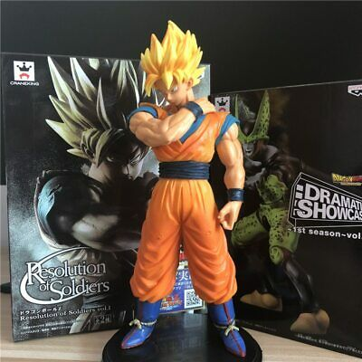 Dragon Ball Z Goku Super SaiYan Awakening Gohan Father Trunks Vegeta Figure Toy