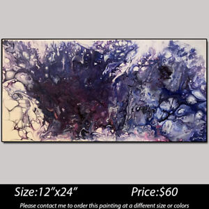 Original Acrylic Abstract Paintings on Canvas