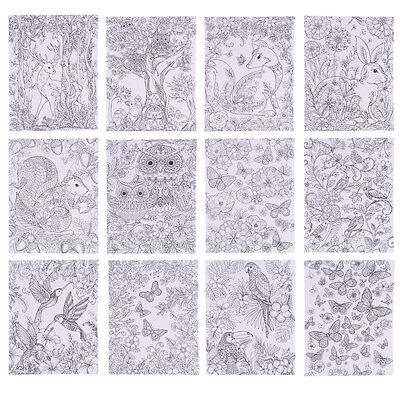 CHSENE -Forest & Garden  -  Entspannende Zen Kunsttherapie (Kunst Für Erwachsene)