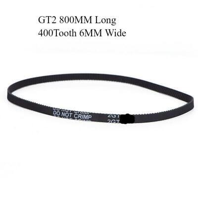 Gt2 400mm Timing Drive Belt Loop Reprap 3d Printer 200t
