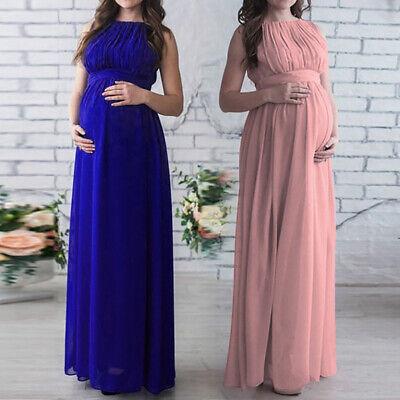Schwangere Kleid Umstandsmode Chiffon Umstandskleid Fotoshooting Kleider Kostüme