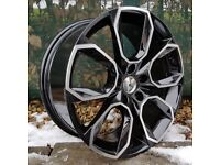 "18"" VRS Style Alloys and tyres for 5x112 VW Audi Seat Skoda Etc"