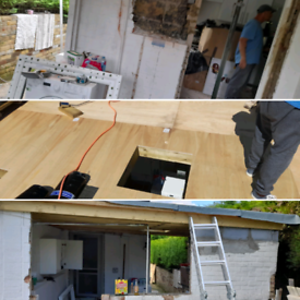 We specialise in all sort of building work