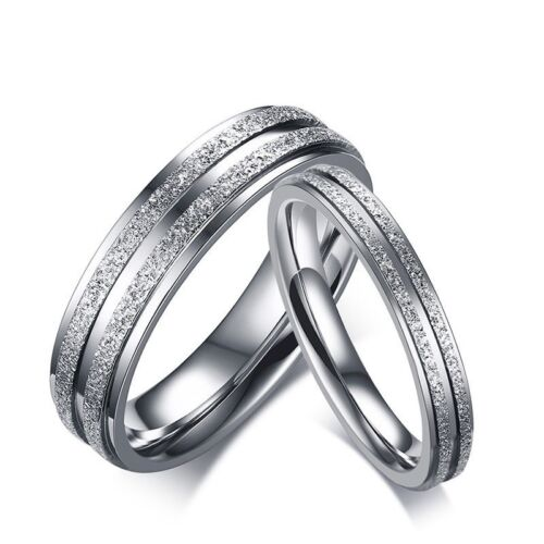 3 5mm stainless steel brushed engagement fashion