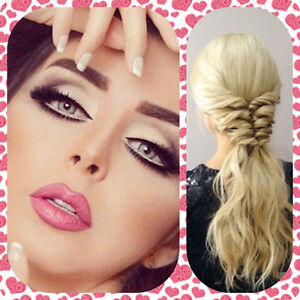 Certified professional makeup artist and hairstylist BEST PRICE