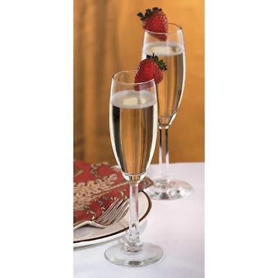 Libbey Glass 6 Napa Country 5.75oz Champagne Flutes #8795 5.75 Ounce Champagne Flute