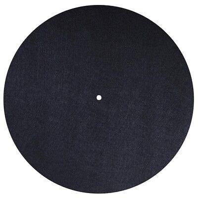 Dynavox Plattentellerauflage PM2 Filz Schwarz 3 mm Plattenspieler Matte Slipmat