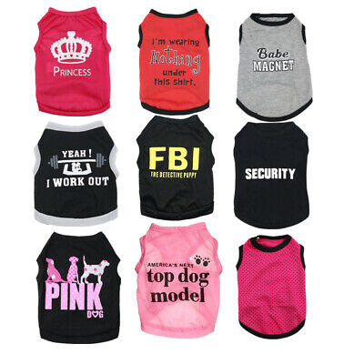Pet Puppy Clothes Dog Cat T Shirt Outfit Costume Small for Chihuahua Schnauzer](Costumes For Chihuahuas)