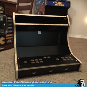 Fully Assembled Arcade Bartop Cabinet, Save $80 Limited Time!