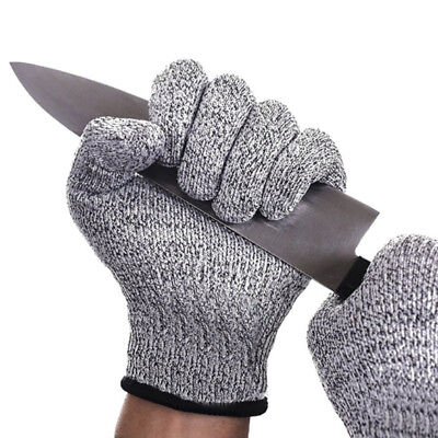 Top-grade Cut Resistant Gloves Anti-cutting Protection Hand Outdoor Working New