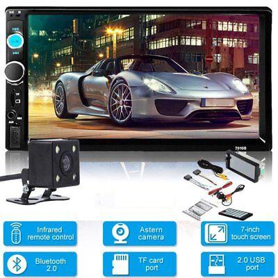 "7"" 2 DIN HD Bluetooth Autoradio Touch Screen Car Stereo USB/TF/FM/AUX MP5 Player"