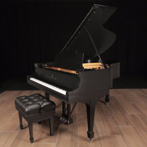 """Completely Restored Steinway M - 5'7"""", Like New, Lindeblad Piano"""