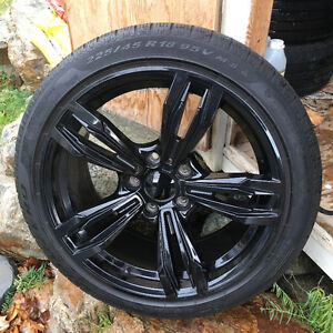 "BMW 18"" performance winter tire+rim package, brand new condition St. John's Newfoundland image 1"