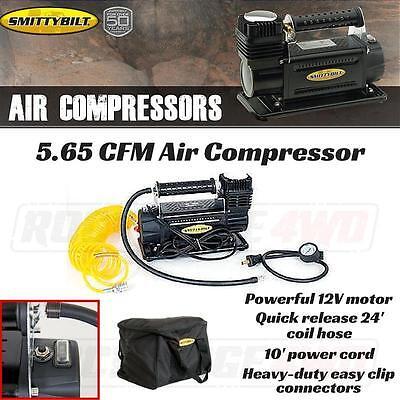 Smittybilt Air Compressor 5.65 CFM Portable Kit 12 volt w/ Nylon Bag, 24' hose
