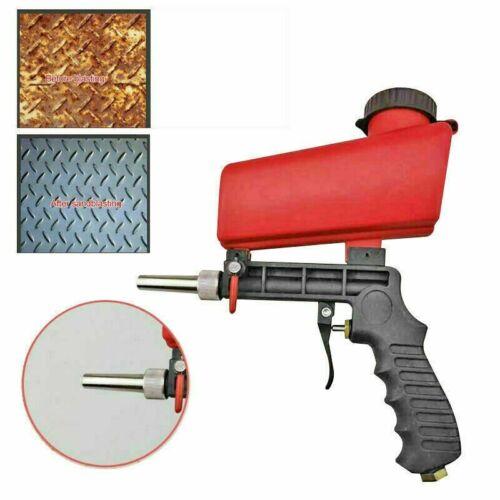 Portable Media Spot Sand Blaster Gun Hand Held Air Gravity Feed Sandblaster 2020