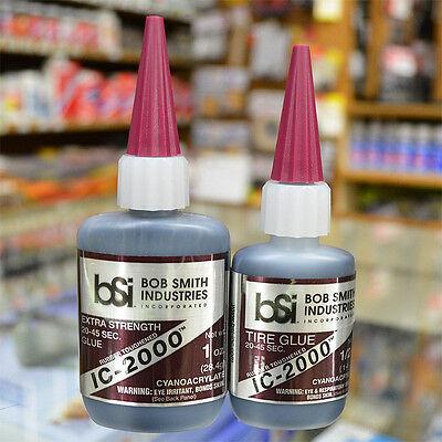 Bob Smith Industries   Ic 2000 Tire Glue Rubber Toughened  Bsi117  Bsi118