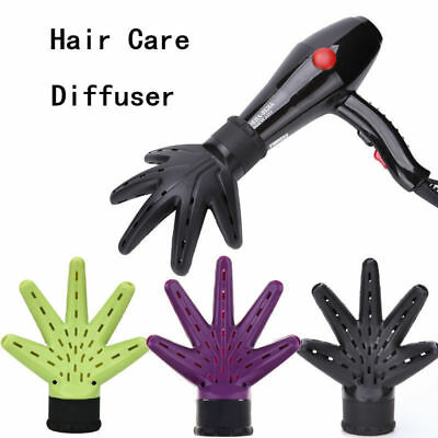 Hand Care Diffuser Hair Dryer Hairdressing Salon Curly Hair Style Tools US (Hair Care Mitt)
