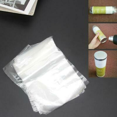 4x6 Inch 100 Pack Clear Heat Shrink Wrap Bags For Small Soaps Candle Jars Gifts