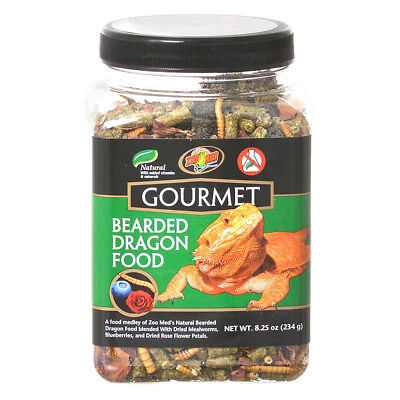 Zoo Med Gourmet Bearded Dragon Food net weight 8.25 oz