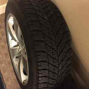 17 inch bmw winter tire from goodyear Strathcona County Edmonton Area image 3