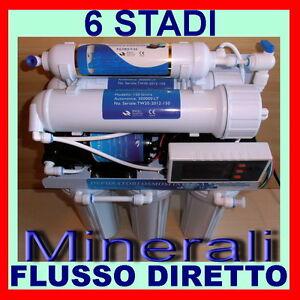 DEPURATORE-ACQUA-PURIFICATORE-6-STADI-OSMOSI-INVERSA-A-FLUSSO-DIRETTO-MOD-750-M