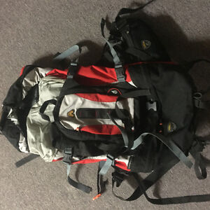 Back packing backpack only used twice