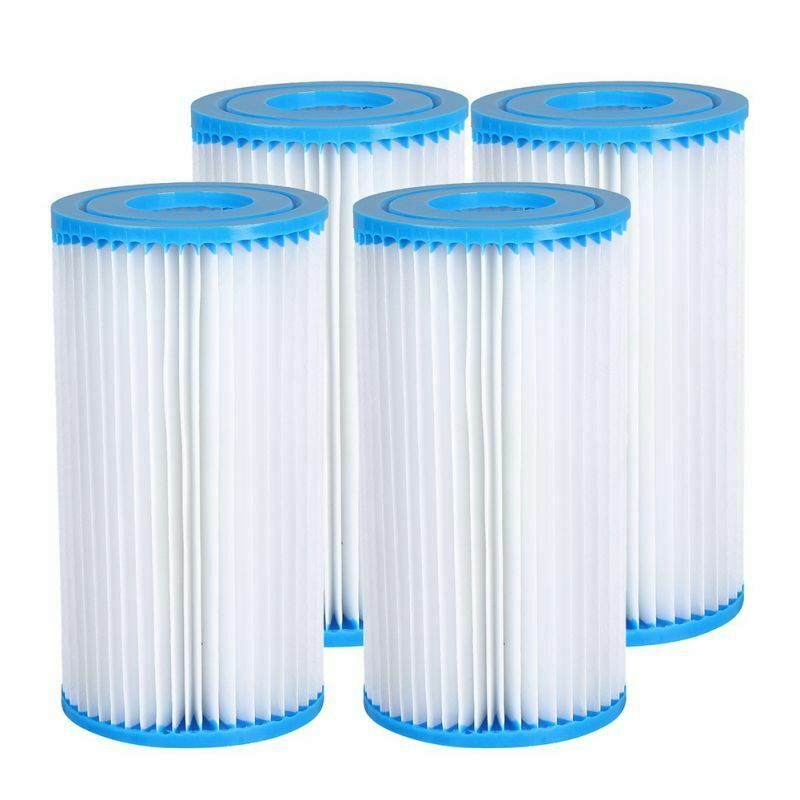 4Pack Summer Waves Type A / C Filter Swimming Pool Filter Cartridge Replacement