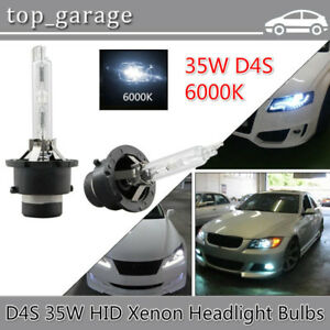 2x D4S D4R D4C Xenon HID Bulb 6000k 35W HeadLight Fog Light Repl
