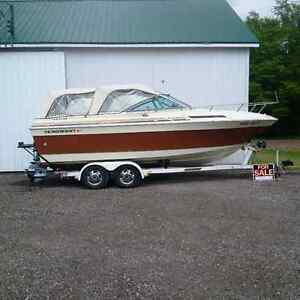 23' Boat and trailer