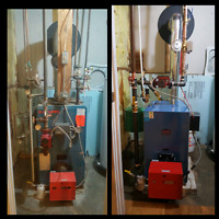 Furnace, Boiler and water heater Installations