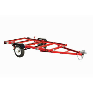 foldable utility trailer