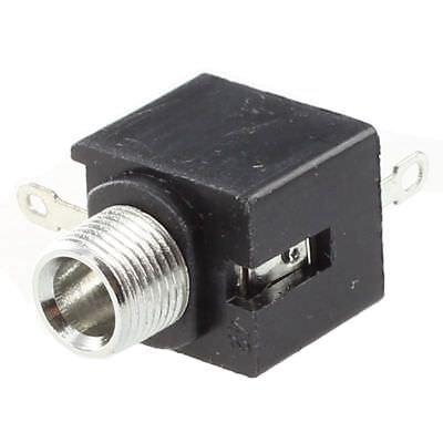 10 Pcs 3 Pins Montage Chassis Femelle 3.5mm Mono Jacks Connecteur G8K6