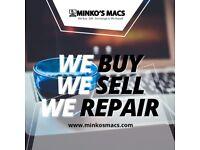 WE BUY SELL REPAIR EXCHANGE FIX APPLE LAPTOP MAC IMAC MACBOOK PRO PRO MACBOOK AIR MINI COMPUTERS