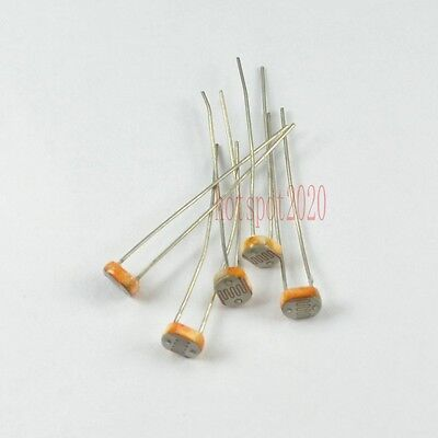 50x 5549cds Photo Light Dependent Sensitive Resistor Photoresistor Ldr Photocell