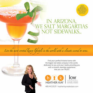 Tired of the COLD? Looking for a home in Arizona?