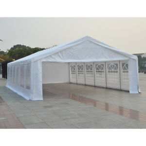 Event Tent Patio 40' x 20'Gazebo Canopy with Removable Sidewall